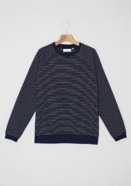 Sweatshirt_Reversible Stripes 01_Blue